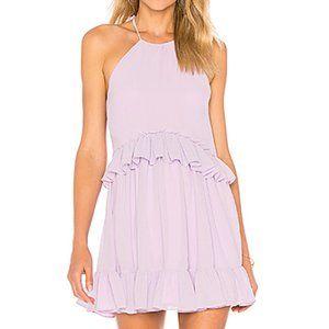Lovers + Friends Banks Dress in Lavender Lilac XXS